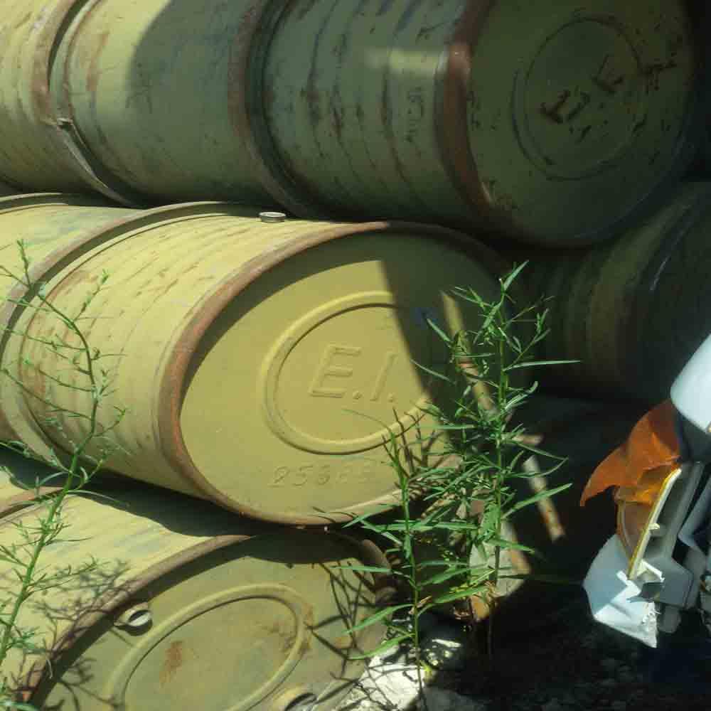 Fusti militari bellici 200 litri usati