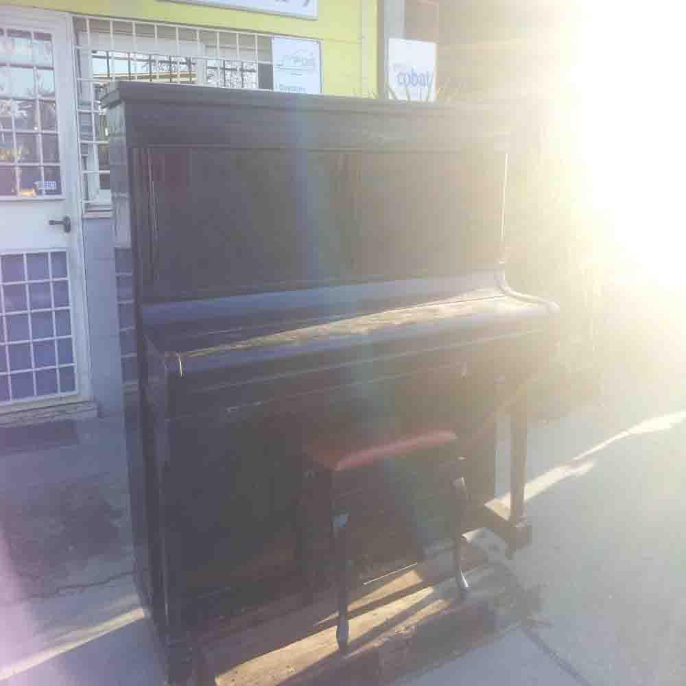 Pianoforte verticale Karpman A. Savio usato da restaurare