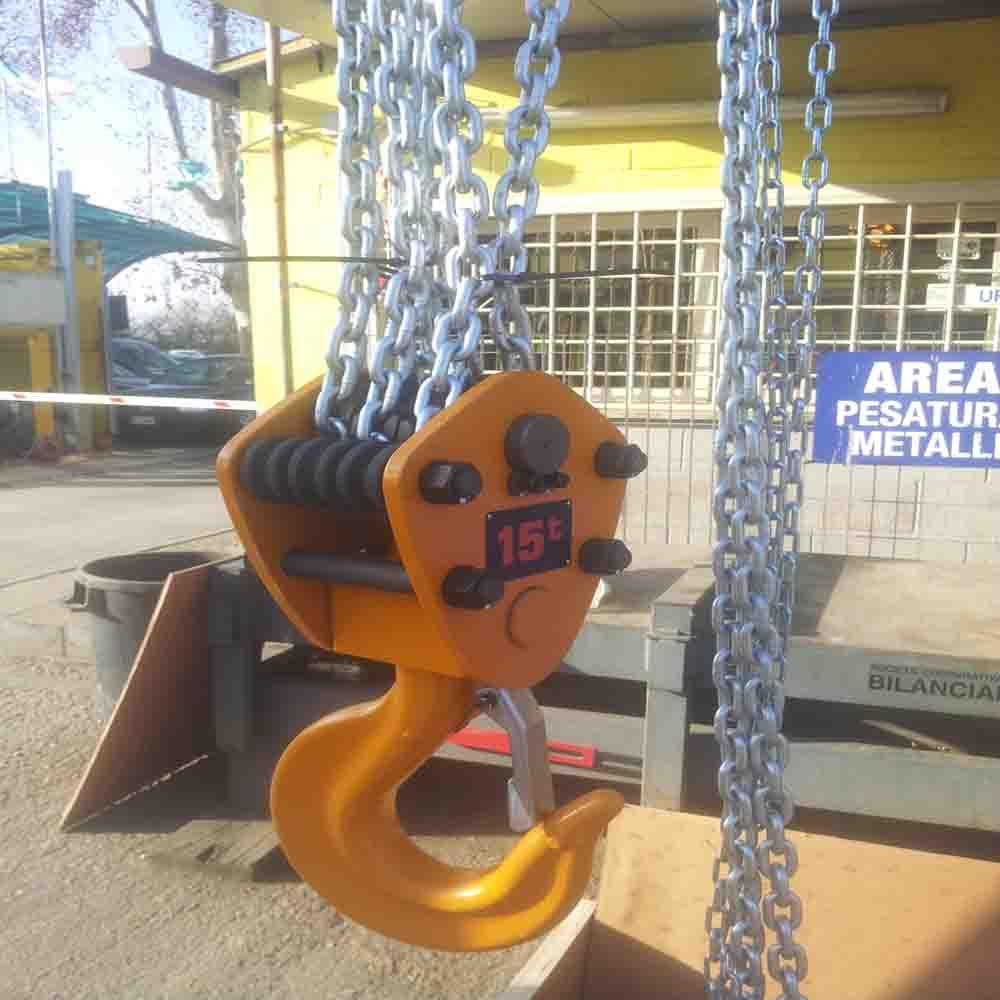 Noleggio Vendita paranco manuale a catena portata 15000 kg