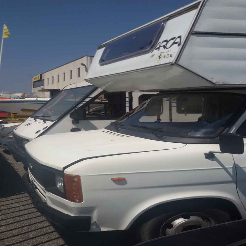 Camper Ford Transit usato anno 1980