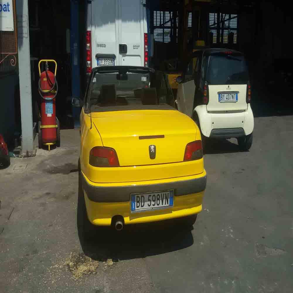 Peugeot 306 cabrio usata
