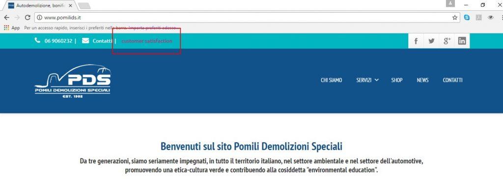 homepage pomilids customer satisfaction
