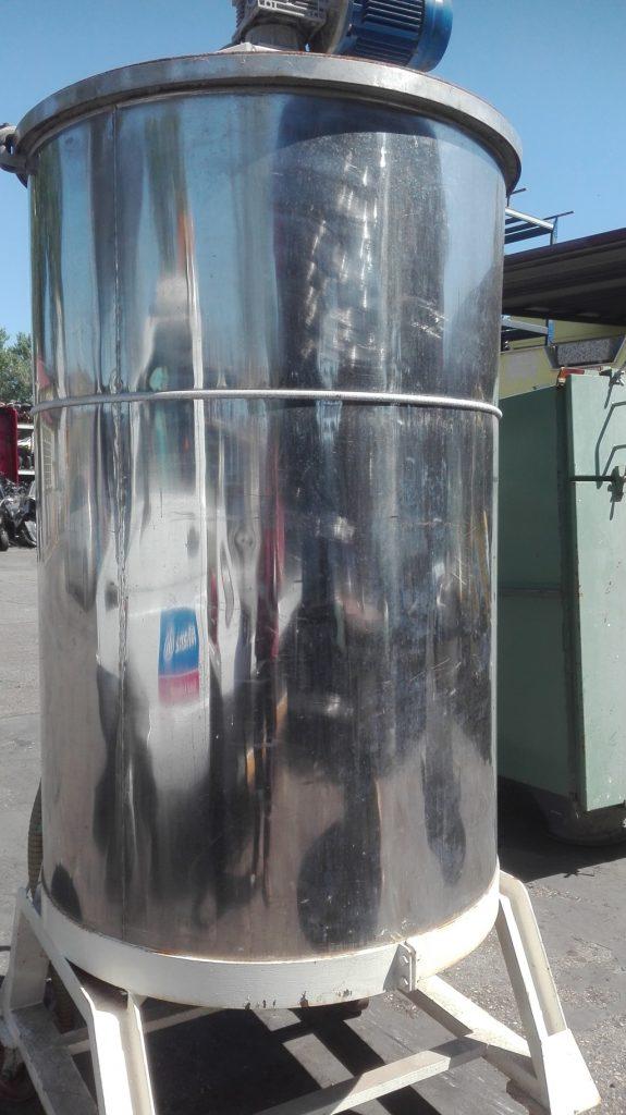 serbatoio silos con carrello (2)
