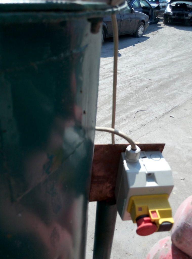 miscelatore con scaletta – usato (3)
