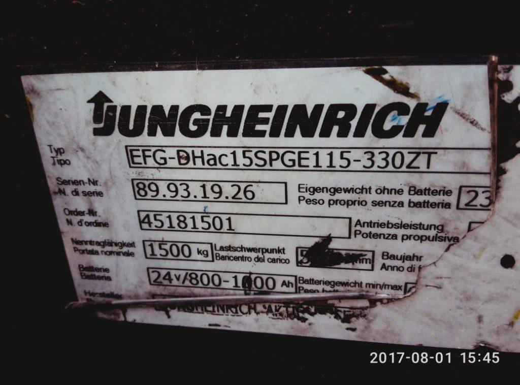 Jungheinrich EFG-DH ac 15 – usato – pomili ds srl (10)