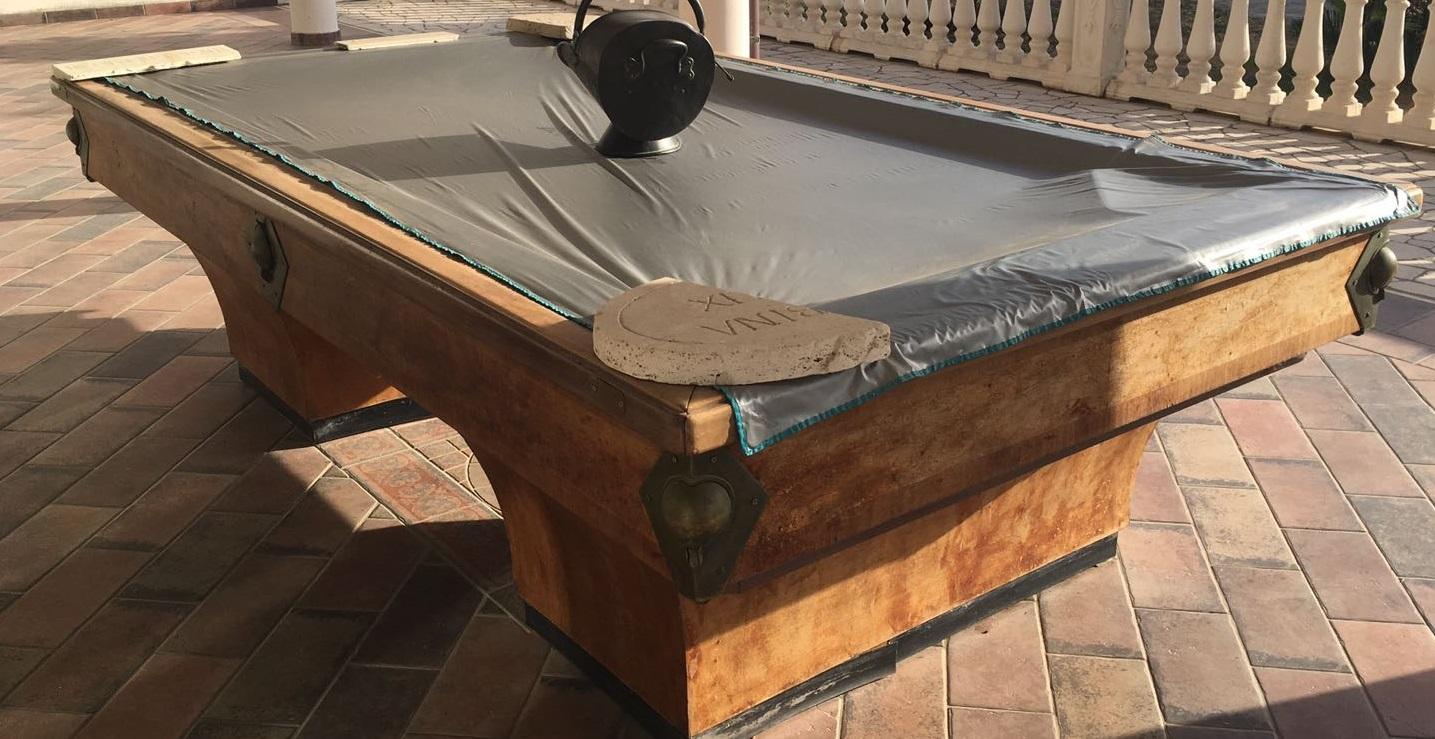 Tavolo da biliardo usato garantito - Costruire tavolo da biliardo ...