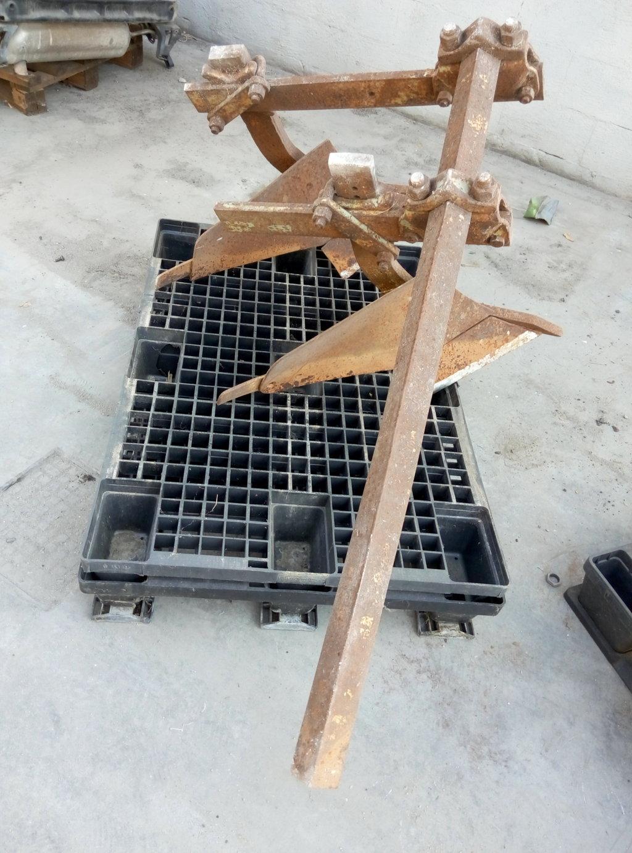 Aratro doppio usato in ferro for Scivolo in ferro usato