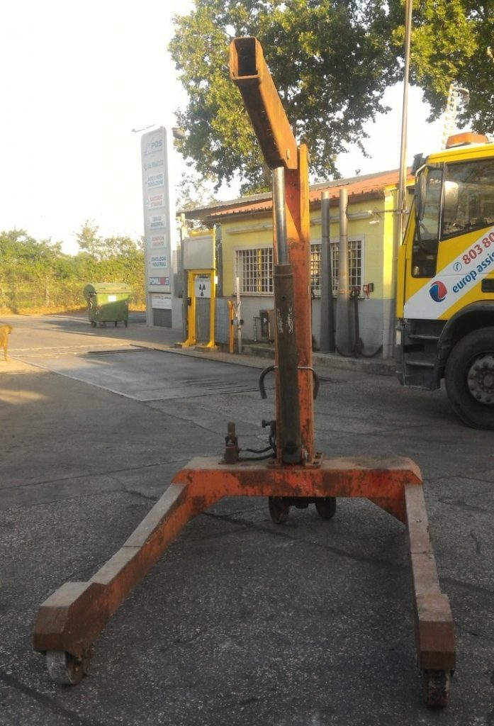 paranco usato – con carrello (1)