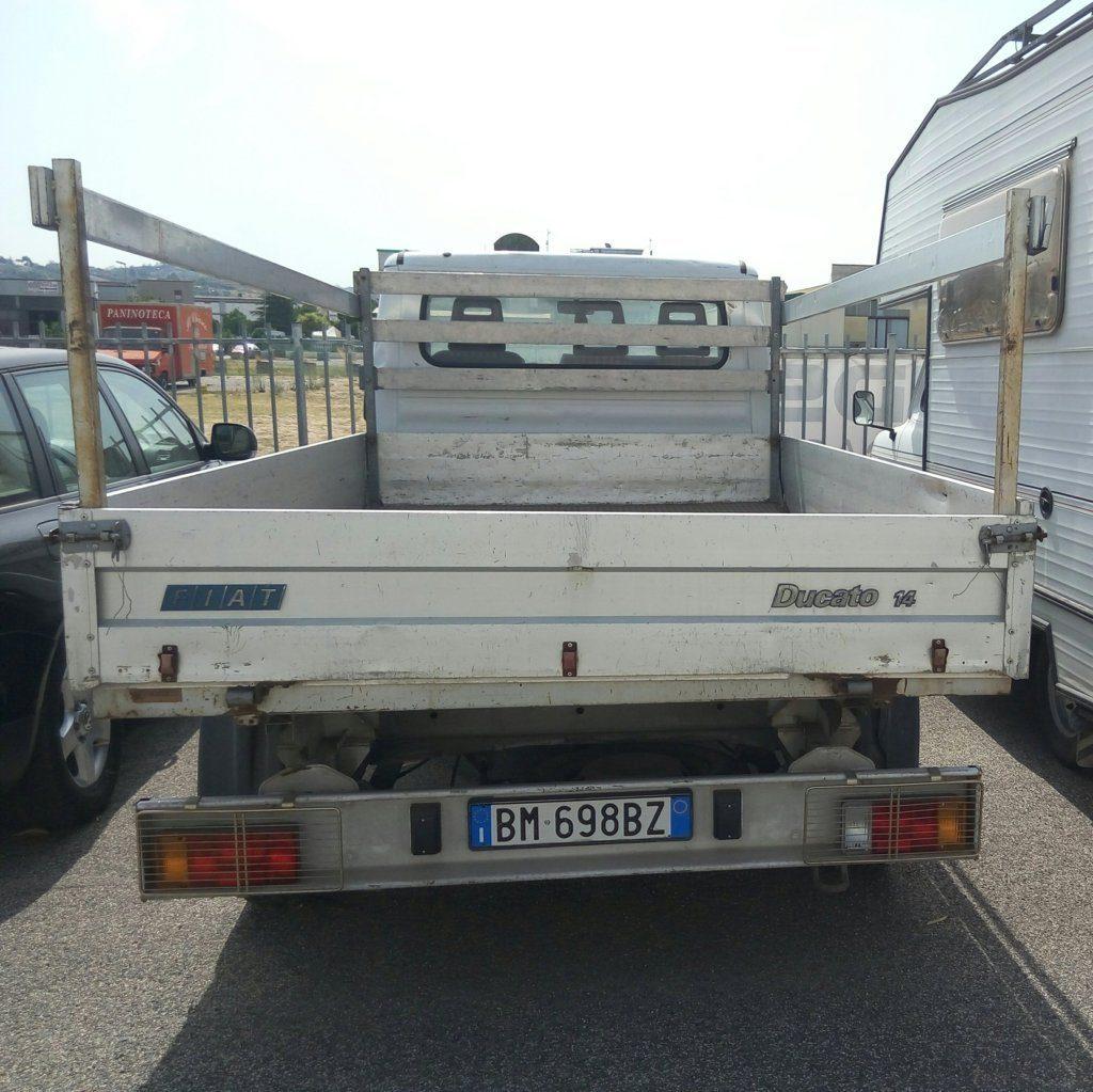 Fiat Ducato 14 usato con cassone (2)