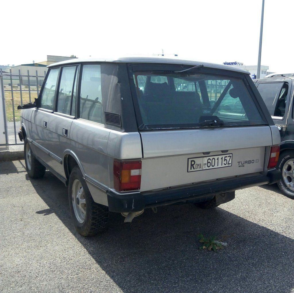 Range Rover – fuoristrada usato (1)