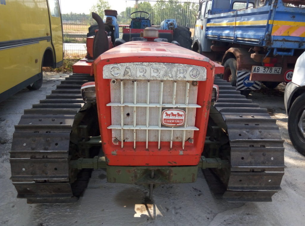 trattore cingolato Carraro 655 usato (1)