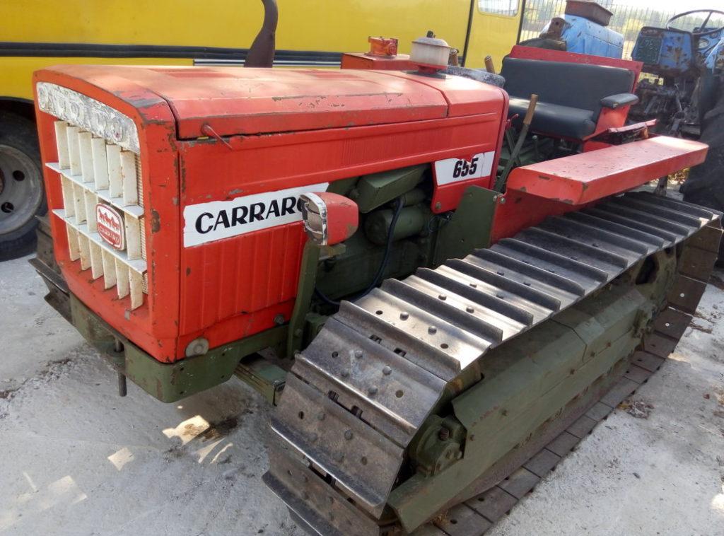 trattore cingolato Carraro 655 usato (14)