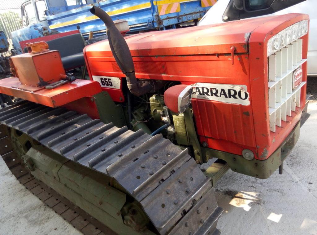 trattore cingolato Carraro 655 usato (2)