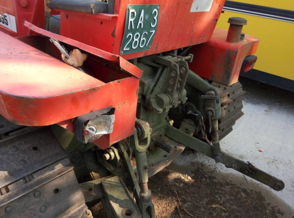 trattore cingolato Carraro 655 usato (7)