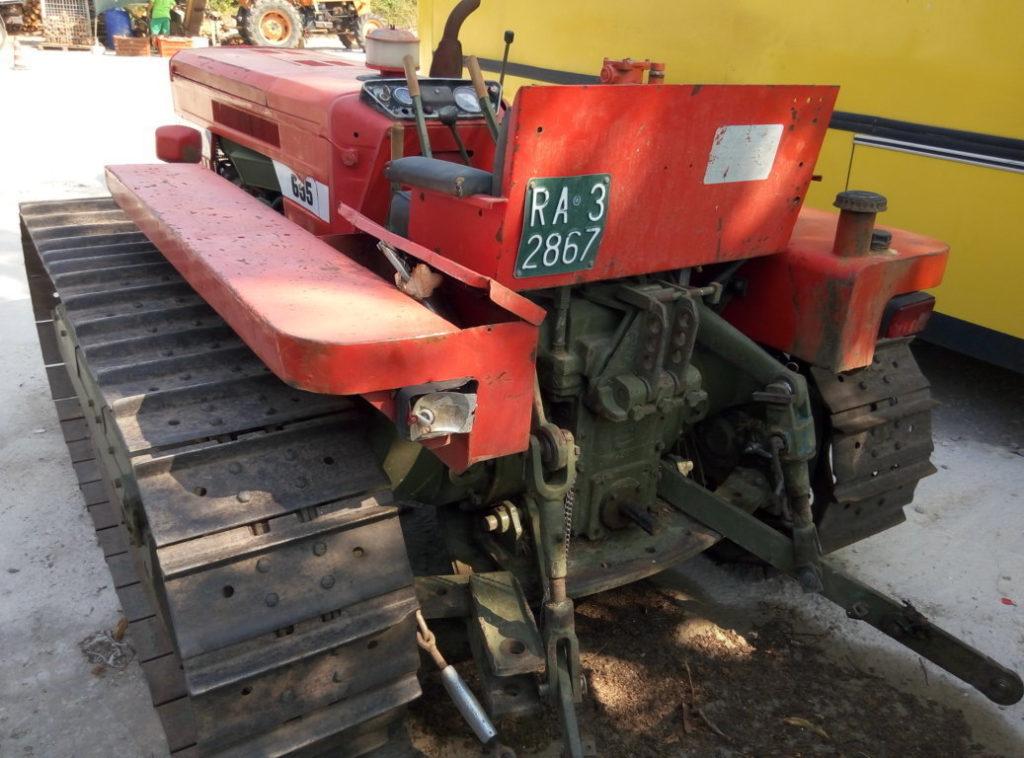 trattore cingolato Carraro 655 usato (9)