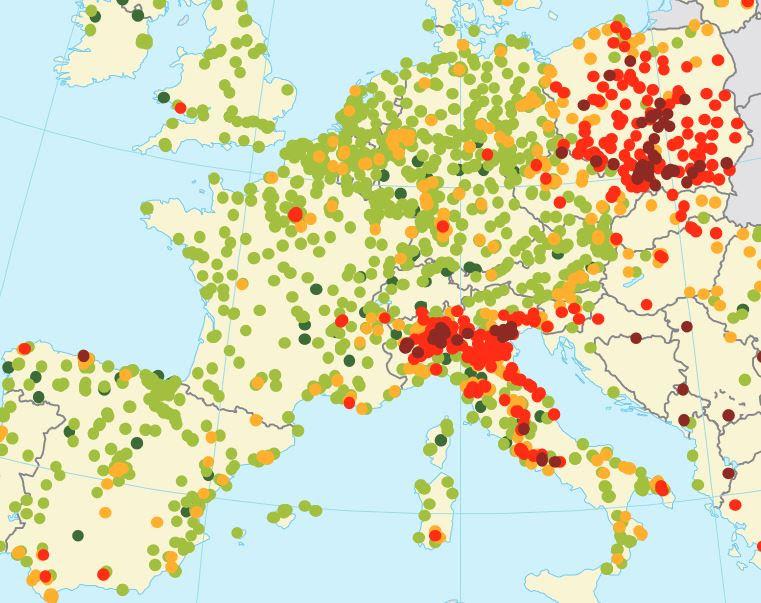 Qualità dell'aria in Europa