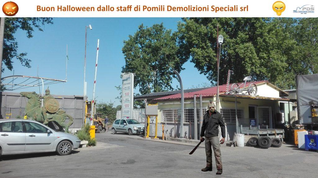 Buon Halloween da Pomili Demolizioni Speciali srl