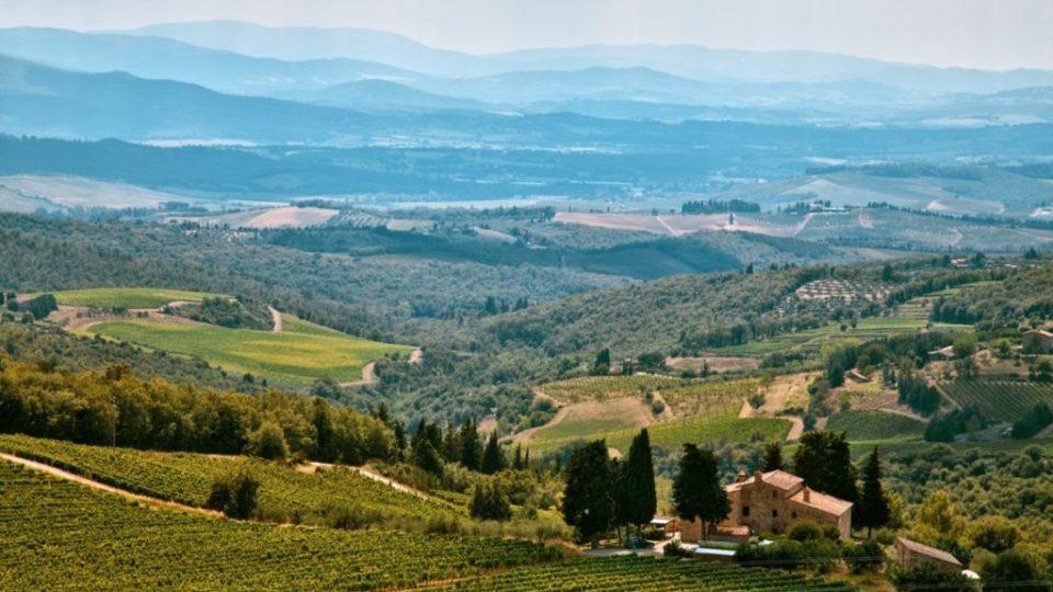 consumo del suolo – paesaggio Italia