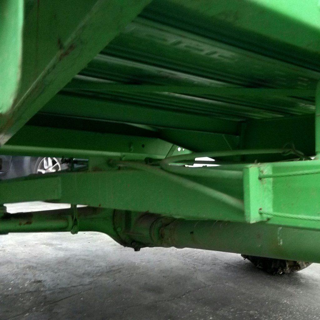 trattore motocoltivatore Lombardini con carrello (1)