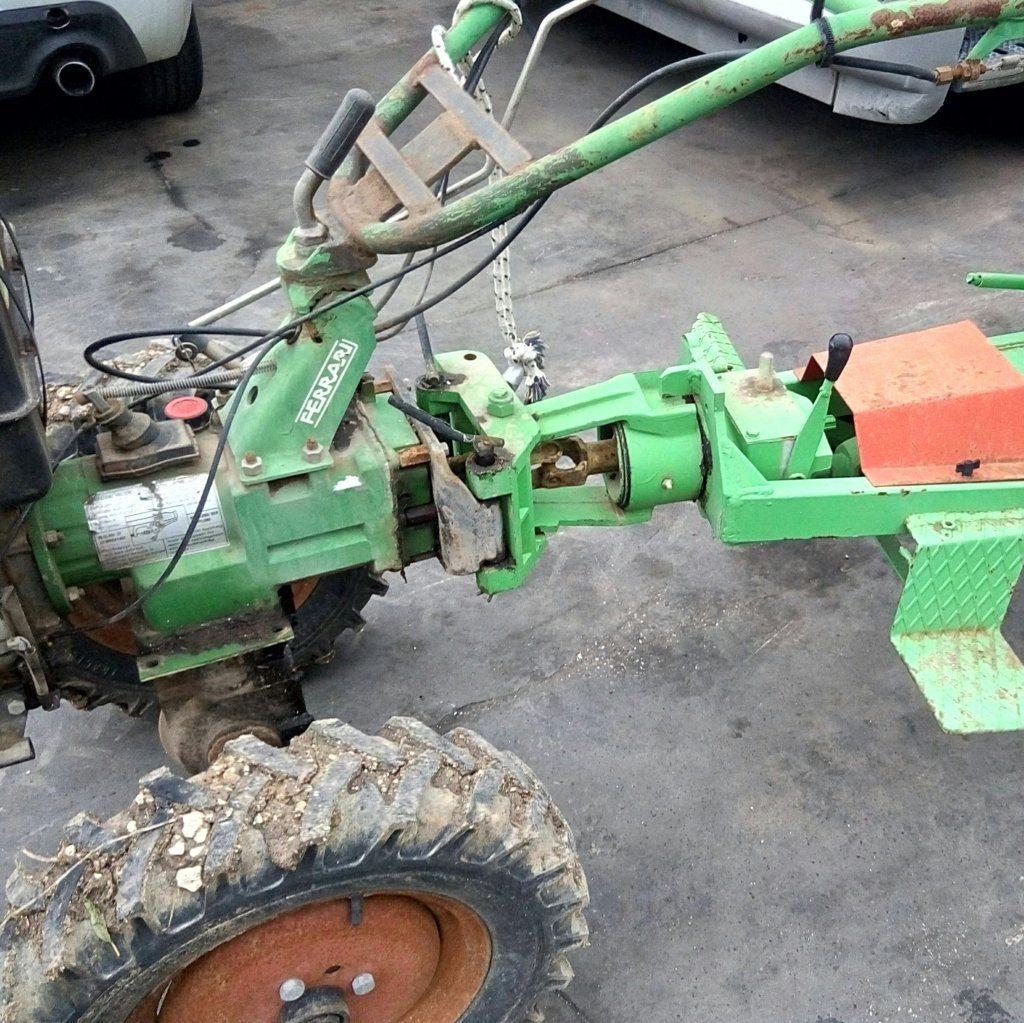 trattore motocoltivatore Lombardini con carrello (9)
