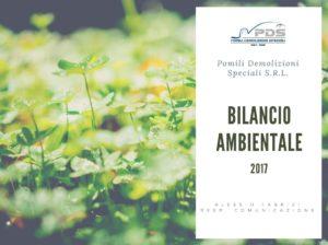 Bilancio Ambientale 2017 | edizione 2018 | Pomilids | Pomili Demolizioni Speciali srl