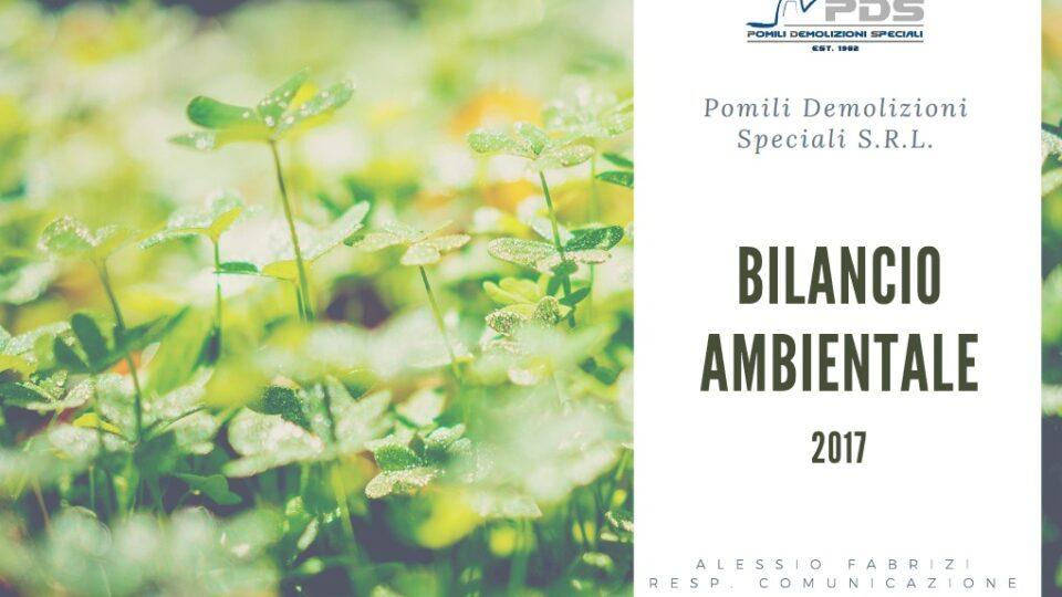 bilancio ambientale pomilids 2017