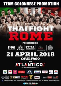 Muay Thai | Kick boxing | Thai Fight Rome | Incontro di boxe al Pala Atlantico | Sponsor Pomilids