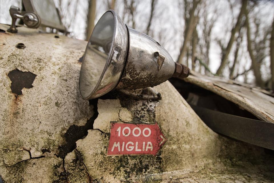 Mille Miglia | Veicoli d'epoca | Pomili Demolizioni Speciali srl