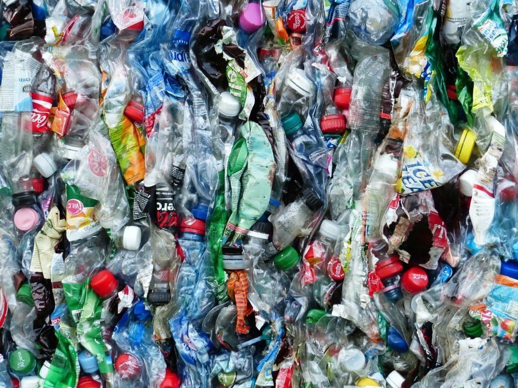 bottiglie riciclate