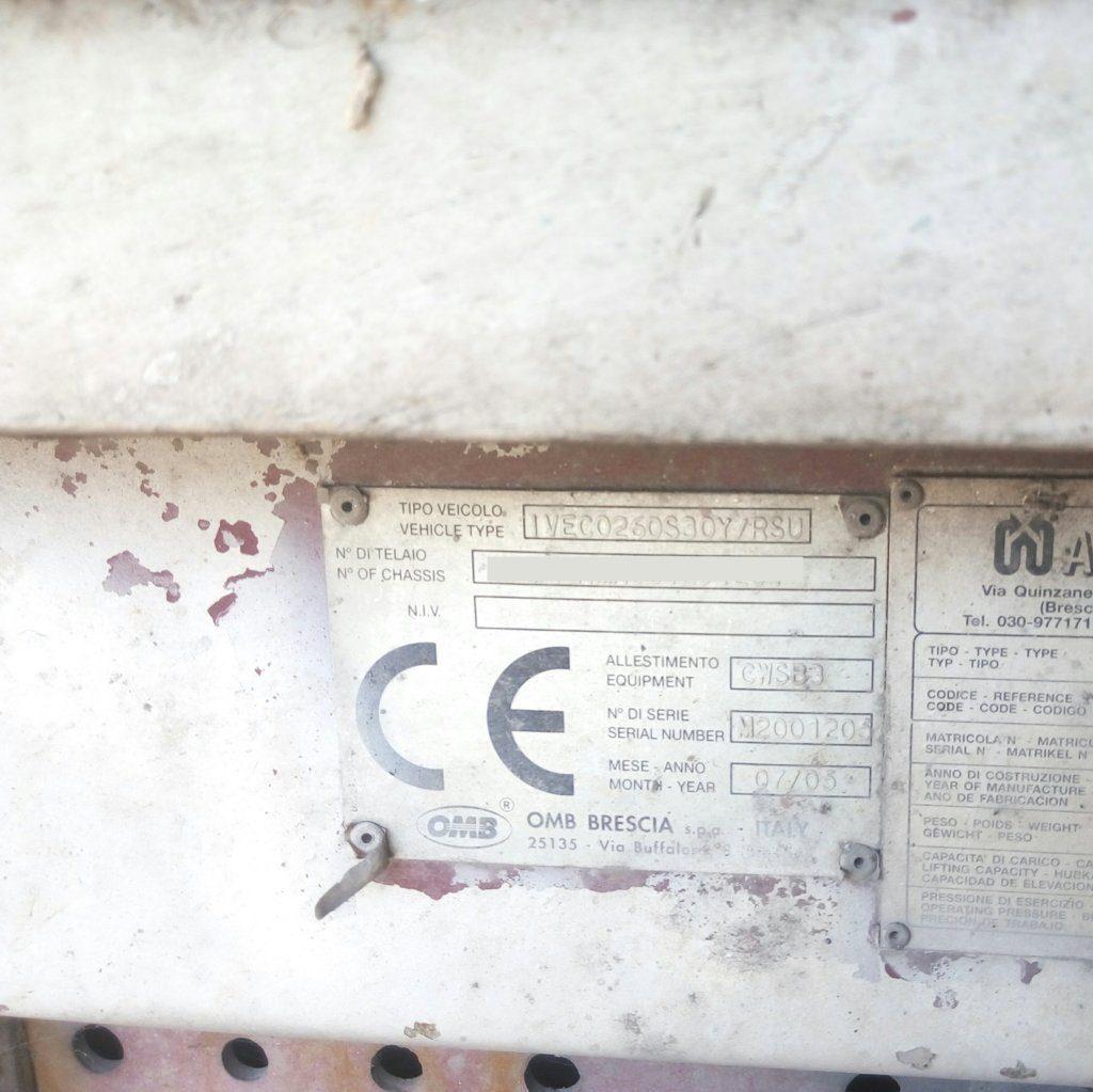Iveco 300 Stralis con compattatore scarrabile rsu (22)