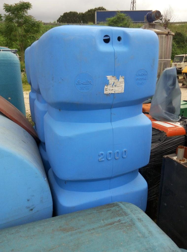 Serbatoi usati per acqua – Pomilids (1)