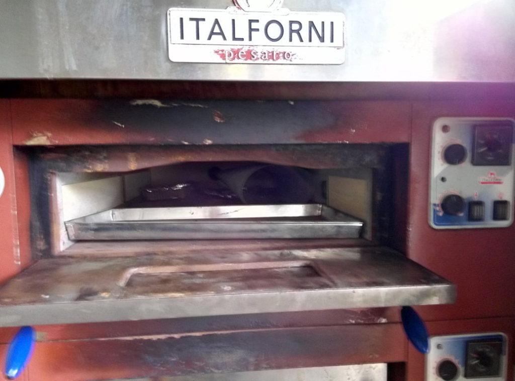 """Doppio forno elettrico """"Italforni pesaro"""""""
