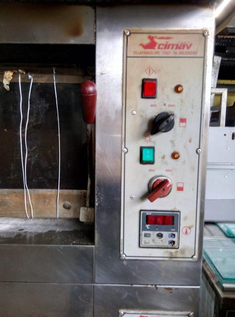 Doppio forno elettrico Cimav