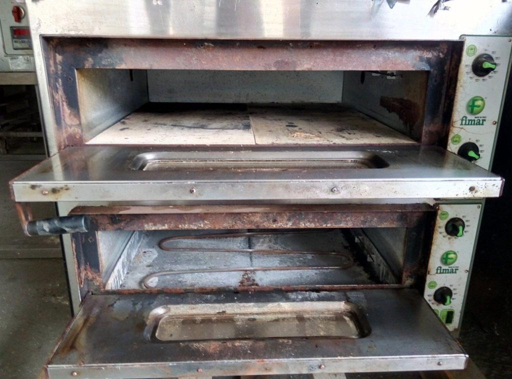 Doppio forno elettrico Firmar + forno elettrico singolo