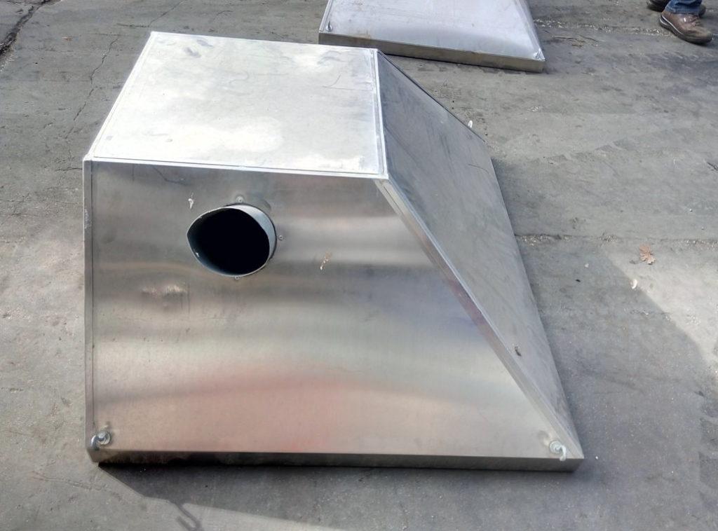 cappe in acciaio inox usate