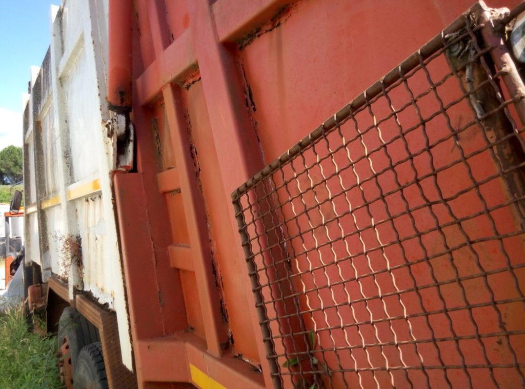 Camion servizio igiene urbana per pezzi di ricambio