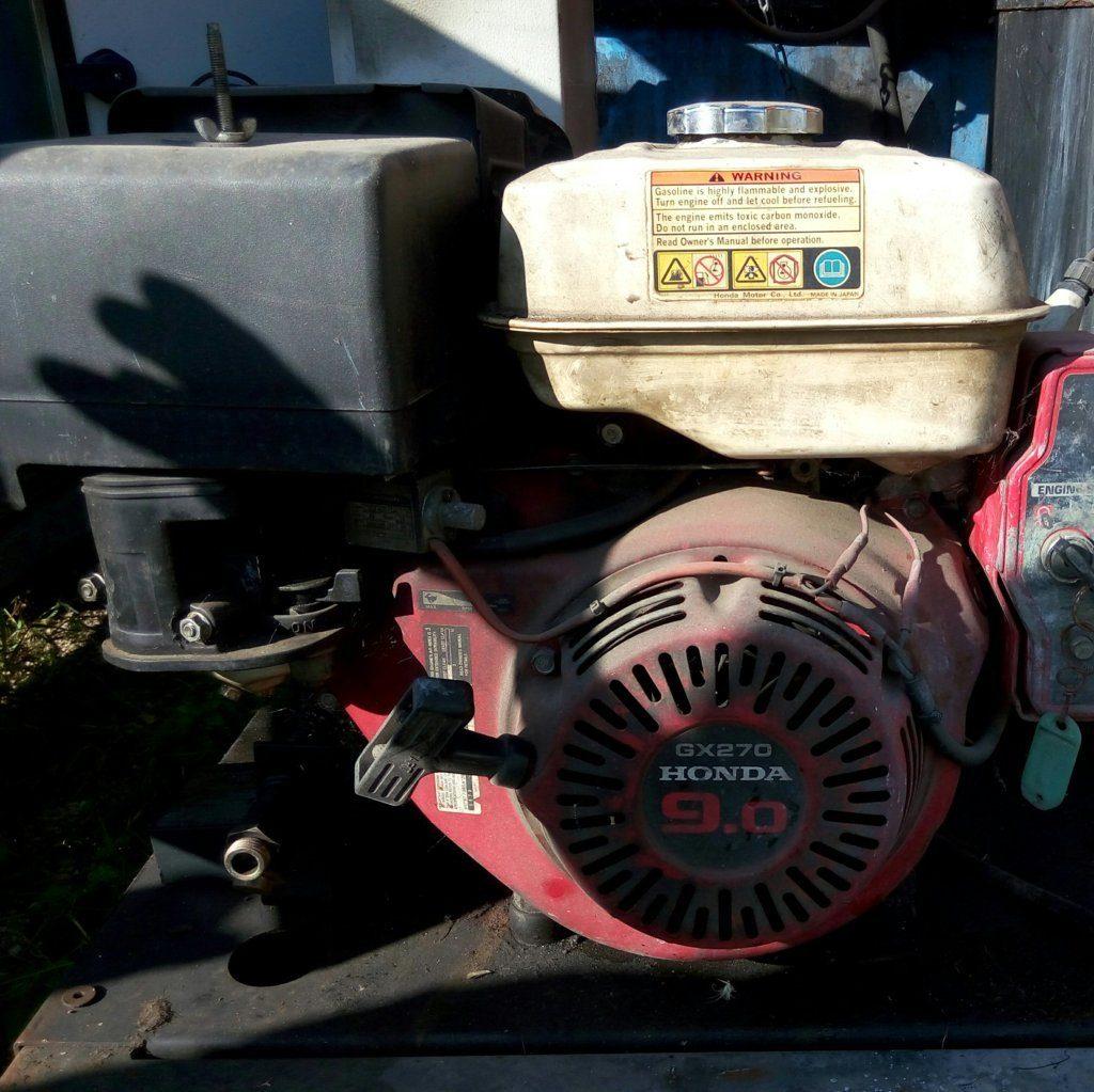 generatore honda 9 – gruppo elettrogeno usato – attrezzatura da lavoro (3)