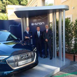 partnership tra Audi e Enel