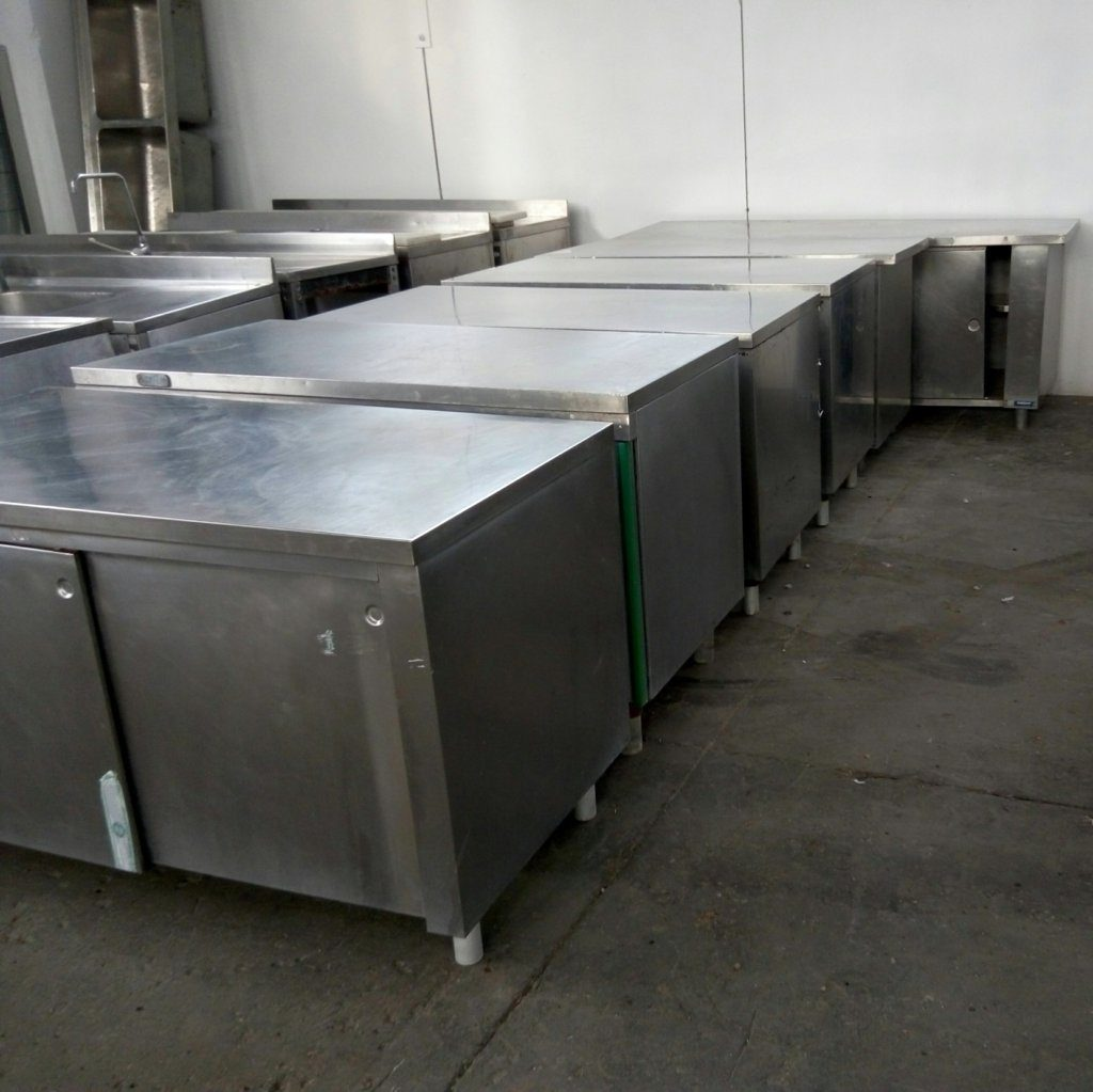tavoli in acciaio inox – MBM Zanussi – usati – pomilids (1)