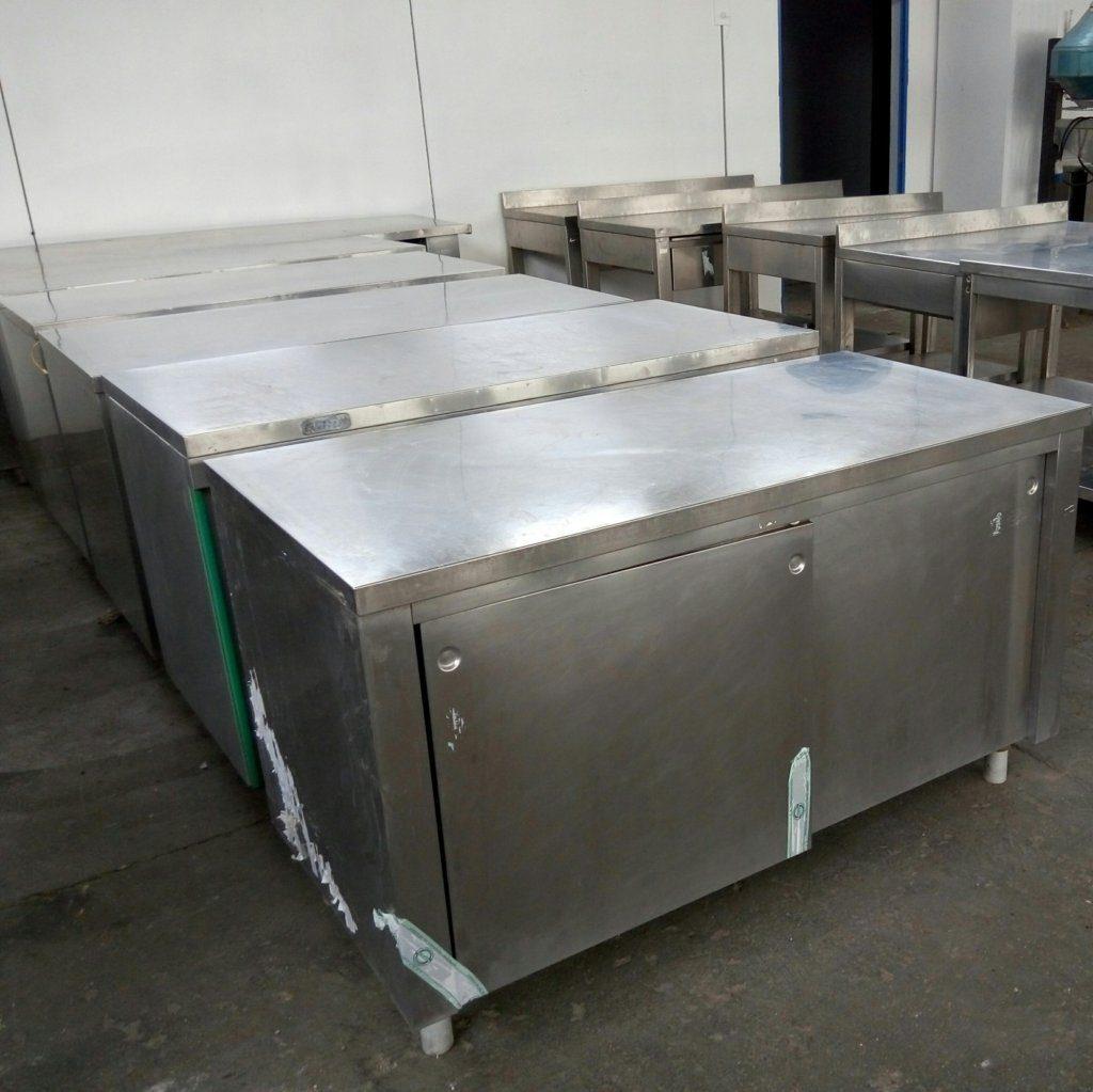 tavoli in acciaio inox – MBM Zanussi – usati – pomilids (2)