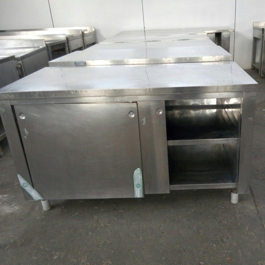 tavoli in acciaio inox – MBM Zanussi – usati – pomilids (3)
