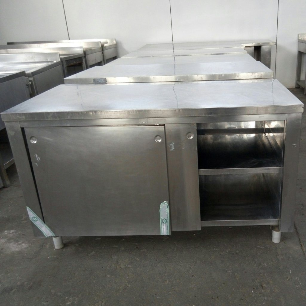 tavoli in acciaio inox – MBM Zanussi – usati – pomilids (4)