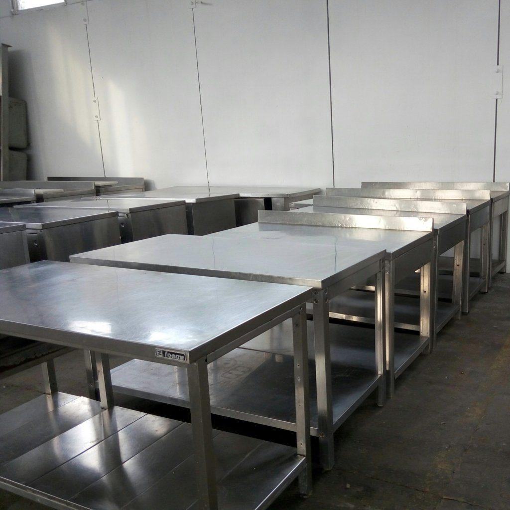 tavoli in acciaio inox – MBM Zanussi – usati – pomilids (6)