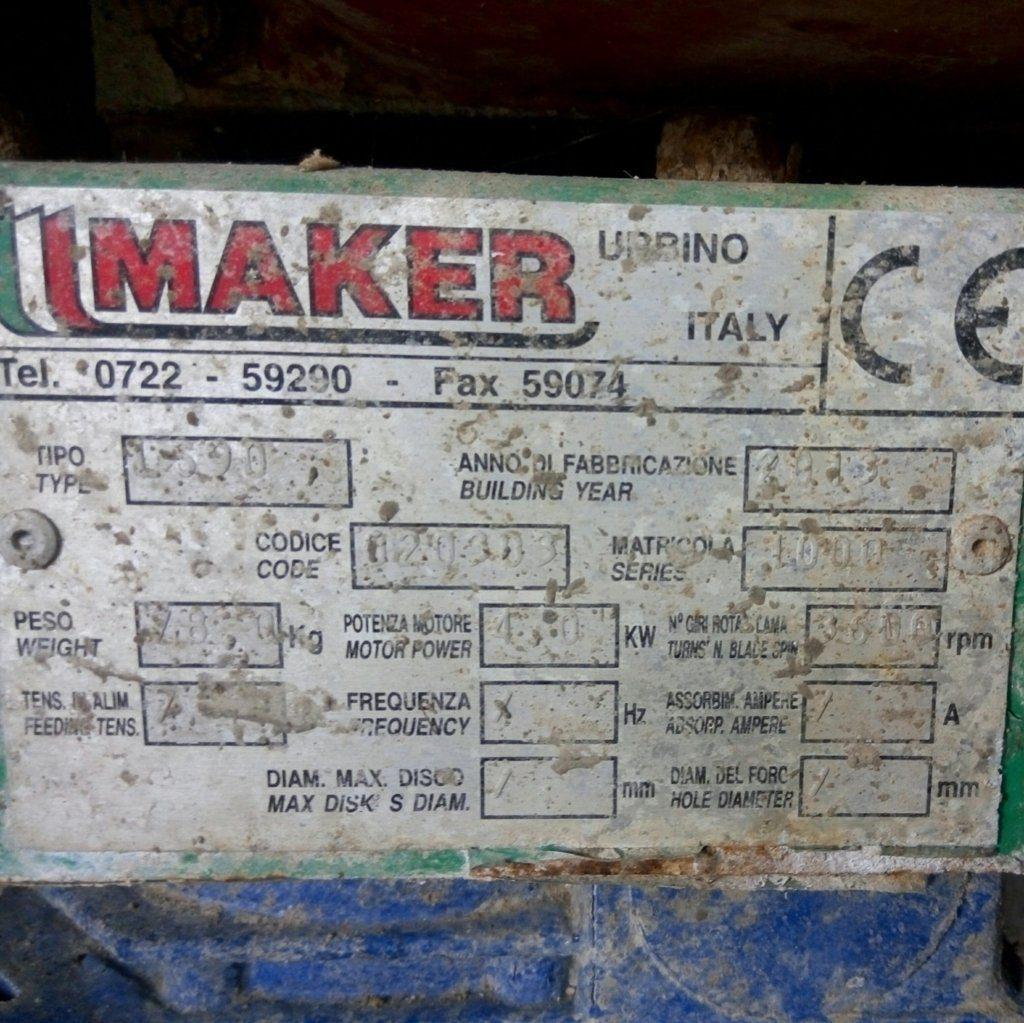Lisciatrice per pavimenti in calcestruzzo Maker