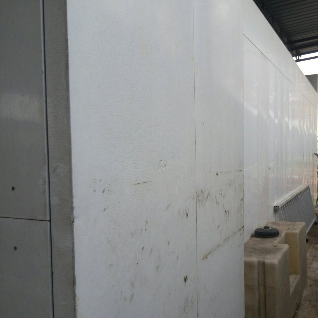 cabina di verniciatura + impianto di depurazione