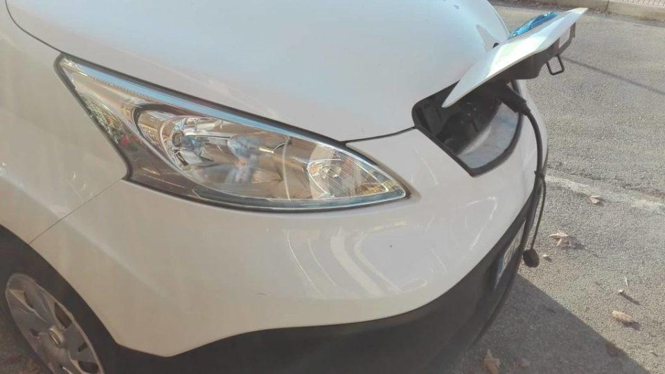 Nissan Auto elettrica – electric car – Roma