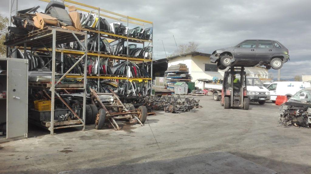 Pomili Demolizioni Speciali SRL – Deposito Ricambi originali usati auto