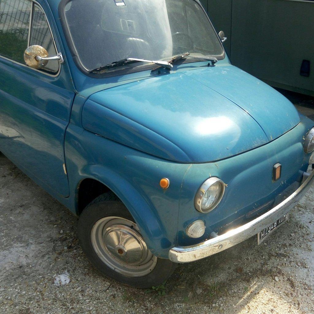 Fiat 500 – auto storica originale – Pomilids (3)