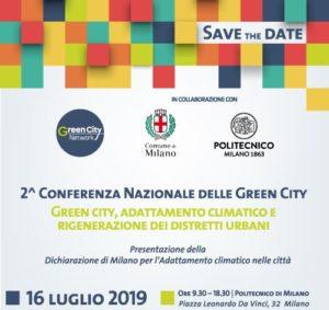 2° Conferenza Nazionale delle green city