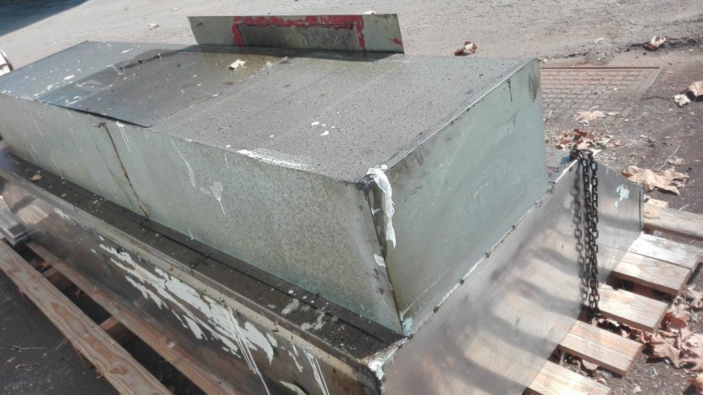 Cappa da muro in acciaio inox (1)